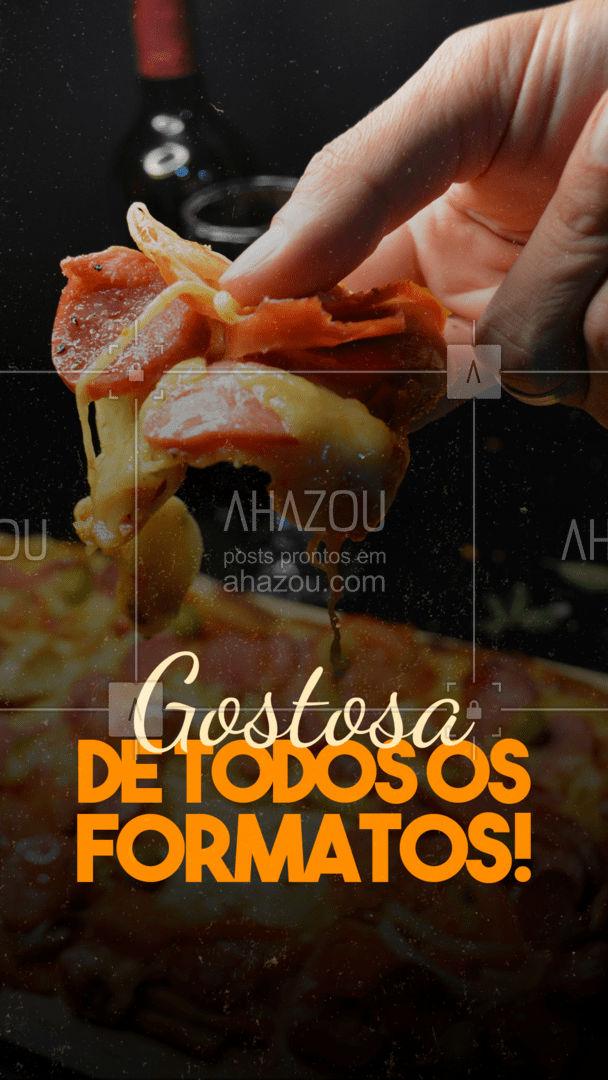 E aí, vai resistir a uma pizza quadrada? #pizza #pizzaquadrada #ahazoutaste #pizzaria #pizzalife #pizzalovers