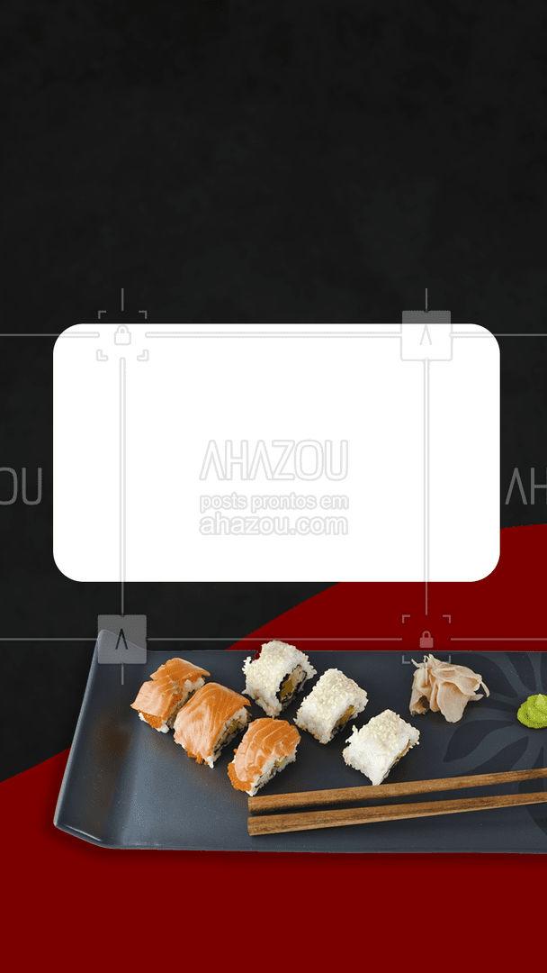Nada melhor que um rodízio para alegrar o dia. Você não vai perder essa oportunidade não é mesmo? ?? #ahazoutaste #japa #sushidelivery #sushitime #japanesefood #comidajaponesa #sushilovers #ahazoutaste #ahazoutaste