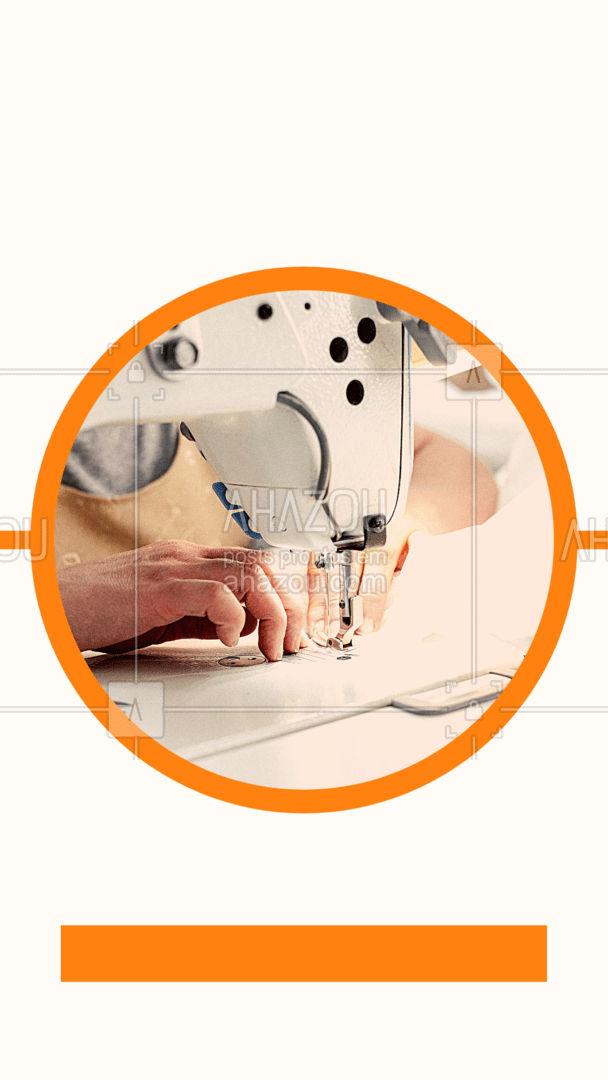 Esse curso é perfeito para quem é iniciante e deseja aprender tudo sobre o mundo da costura, para saber mais sobre valores e outras informações entre em contato com a gente! #moda #AhazouFashion #costura #cursos
