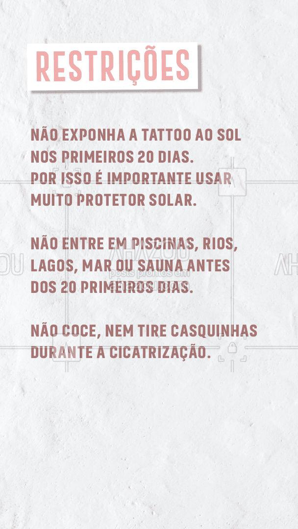 E aí tattoomores, como anda a cicatrização da sua tattoo? Espero que esteja seguindo as dias que passei hein! Essas são as minhas recomendações para você tem uma tattoo linda e hidratada. Espero que gostem, e aproveitem! Compartilha e comenta aí o que achou! #carrosselahz #AhazouInk #dicadetattoo #tattoos #tattoo #cicatrizacao #AhazouInk