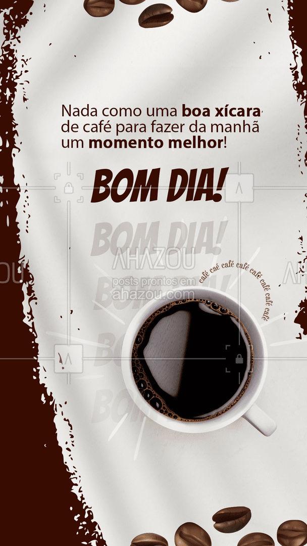 Começar a manhã com um cafézinho não tem preço, né? Venha passar a manhã conosco, acompanhado, é claro, de um  insubstituível cafézinho! ☕💖 #ahazoutaste #coffeelife  #barista  #coffee  #café  #cafeteria