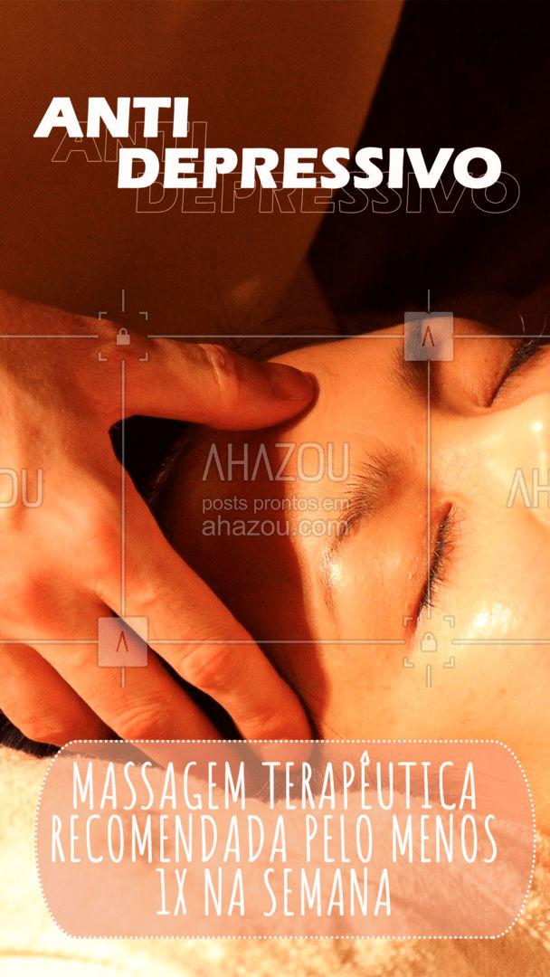 Se tem melhor antidepressivo eu desconheço. ??♂  #AhazouSaude  #massoterapia #massagem #relax #massoterapeuta #massagemterapeutica