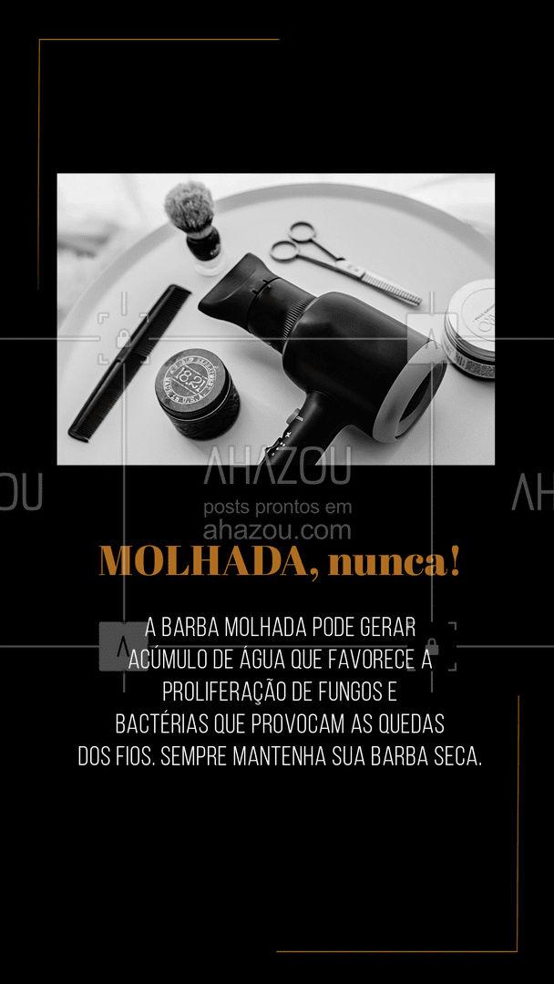 Barba bonita requer os devidos cuidados. #AhazouBeauty #barbeirosbrasil  #barbeiro  #barbearia  #cuidadoscomabarba  #barba #dicasbaraba