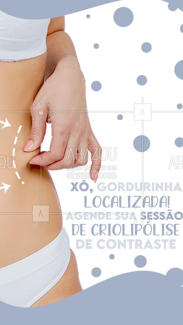 Elimine até 40% da gordura localizada em apenas uma sessão! 🤩 #criolipolise #criolipolisedecontraste #AhazouBeauty #esteticacorporal #estetica #esteticista #AhazouBeauty