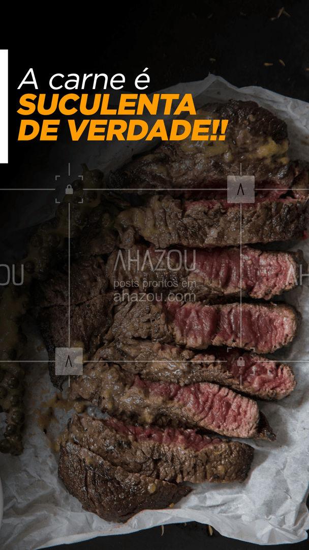 E é assim que nós fazemos os nossos grelhados, com SUCULÊNCIA!! E se ficou com vontade, venha provar, estamos te esperando.   #ahazoutaste #restaurante # foodlovers #grelha #churrasco #delivery #carnes #food  #grelhados