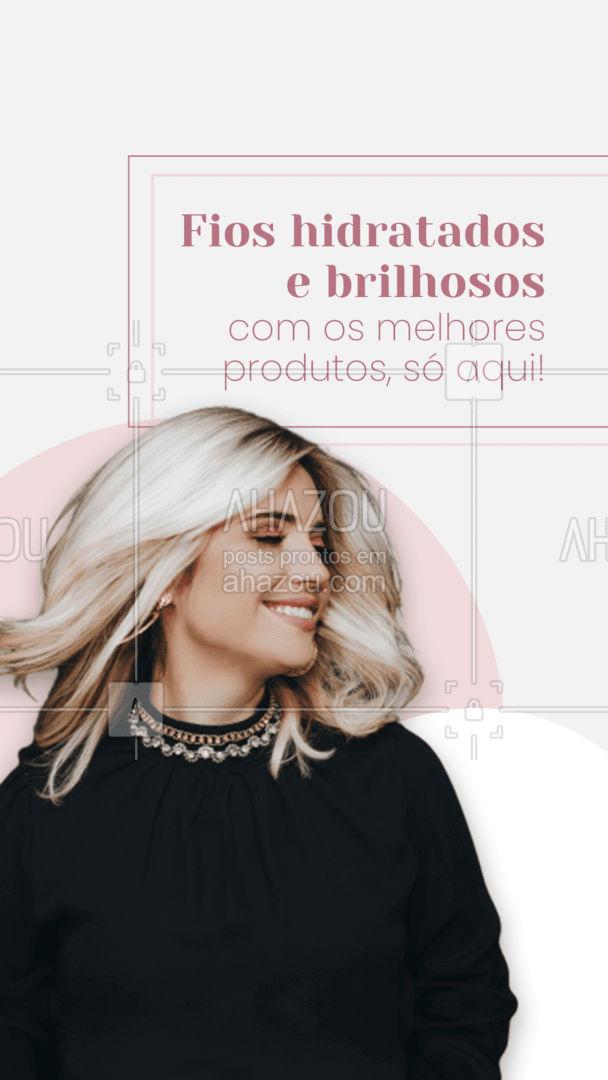 Quer um tratamento potente para o seu cabelo? Marque um horário com a gente, aqui trabalhamos com os melhores produtos! #hair #AhazouBeauty #salaodebeleza #cabeleireiro #cabelo