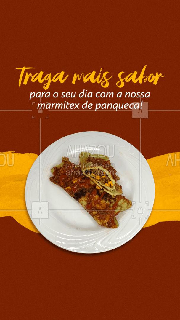 Vem conferir as nossas opções de recheios da nossa panqueca, tudo preparado fresquinho para chegar até você da melhor maneira possível. Deixe o seu dia mais saboroso 😍 #ahazoutaste #panqueca #marmitex #comida #refeição #recheios #sabores