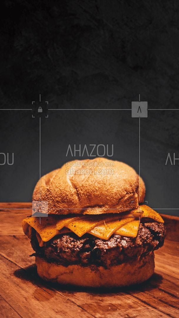 Você não precisa passar vontade, essa maravilha está a uma ligação de distância! ? #hamburguer #burger #ahazoutaste #hamburgueriaartesanal #hamburgueria #burgerlovers #artesanal