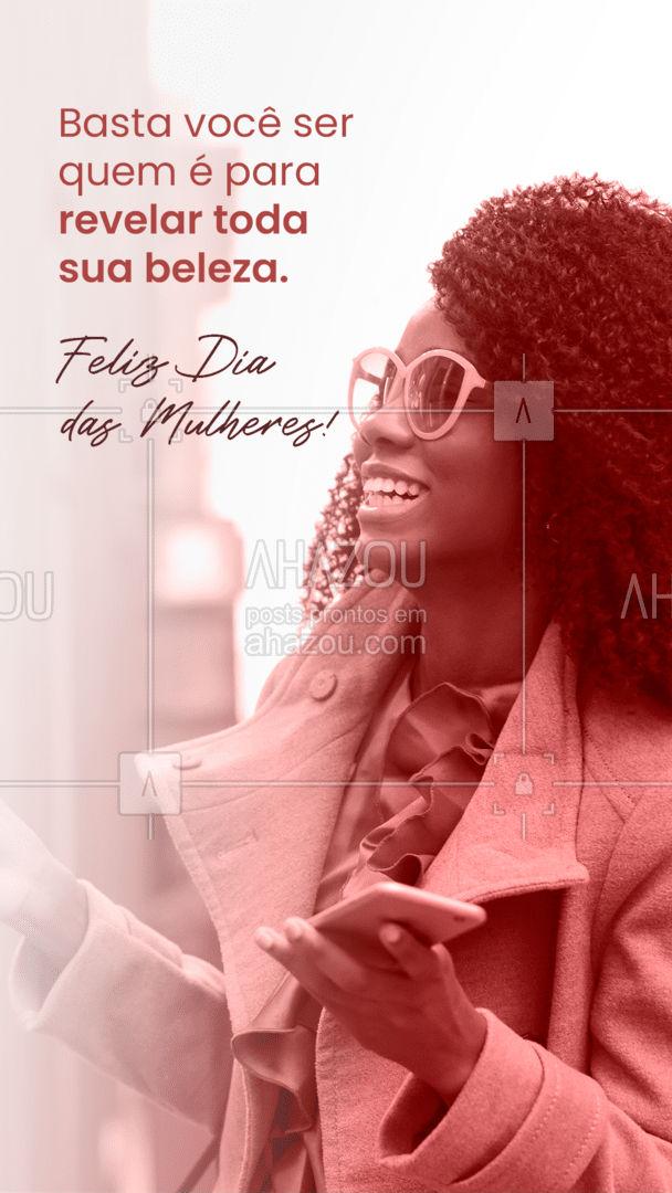 Vista-se de você, seja você e ame a você mesma. E veja, uma beleza toda sua nascer. Feliz Dia das Mulheres! ❤️ #AhazouÓticas #oculos #oculosdesol #oculosdegrau #moda #otica #oculosdamoda #fashion #estilo #sunglasses #oculosfeminino #oculosdodia