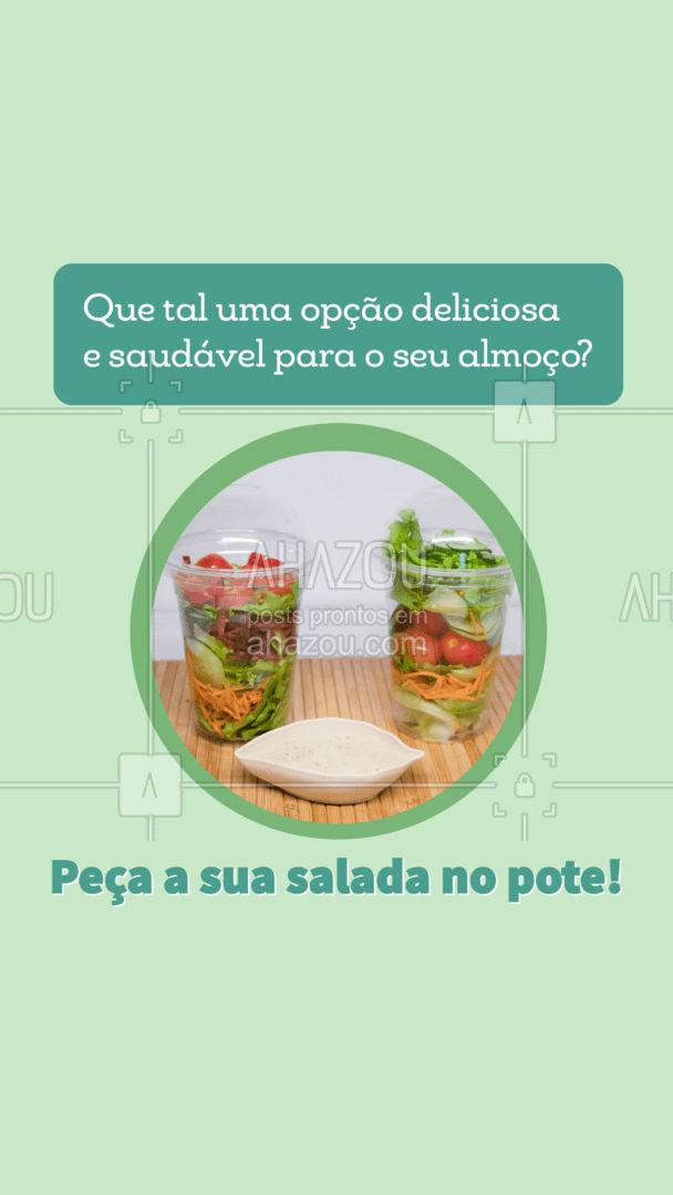 Comece aos poucos, mas comece. Sua alimentação saudável e deliciosa é aqui! Entre em contato e peça a sua salada no pote! #veggie #vegan #crueltyfree #fit #ahazoutaste #vegetariano #eat #ilovefood #instafood #foodlovers #saladanopote
