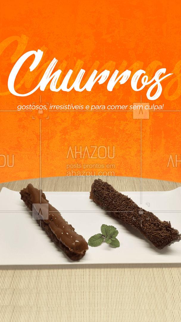 Temos diversos sabores esperando por você, faça o seu pedido! 😉 #sobremesa #churros #ahazoutaste  #cozinhamexicana  #comidamexicana  #vivamexico