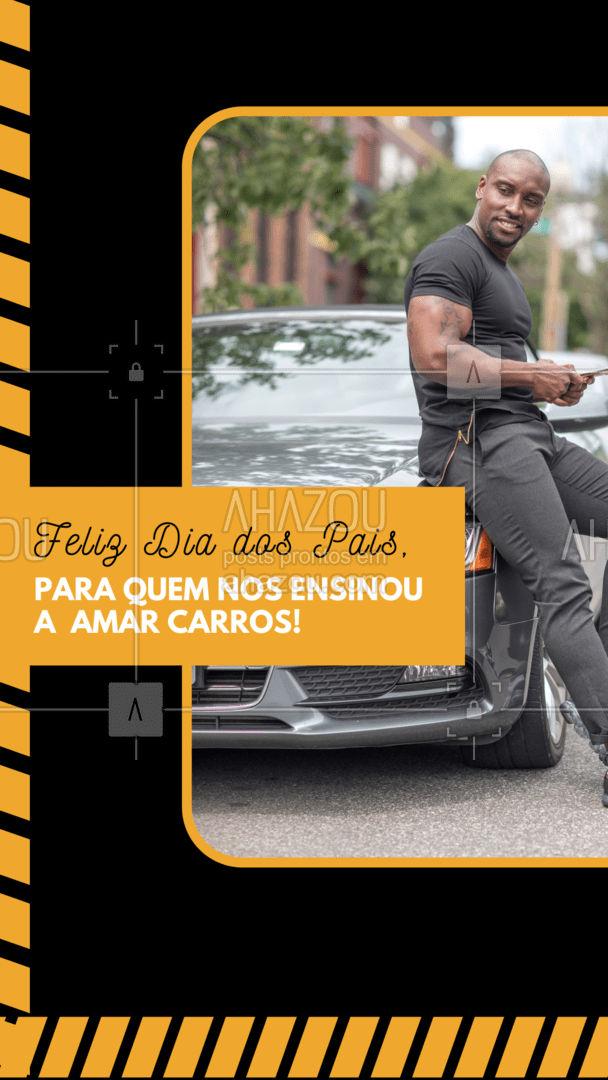 Por que o amor por quatro rodas vem de pai para filho! #esteticaautomotiva #esteticaelavajato #servicoautomotivo #AhazouAuto #carros #mecanicaautomotiva #pai #pais #diadospais #felizdiadospais