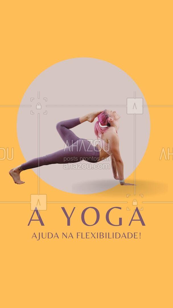 Praticar Yoga regularmente ajuda a desenvolver flebilidade! A prática te ajuda a adquirir mobilidade e aumenta a amplitude das articulações do corpo. Não se preocupe se você ainda não é flexível para começar a praticar. A Flexibilidade pode ser adquirida com o tempo! #AhazouSaude  #yoga  #namaste  #yogainspiration  #yogalife  #meditation
