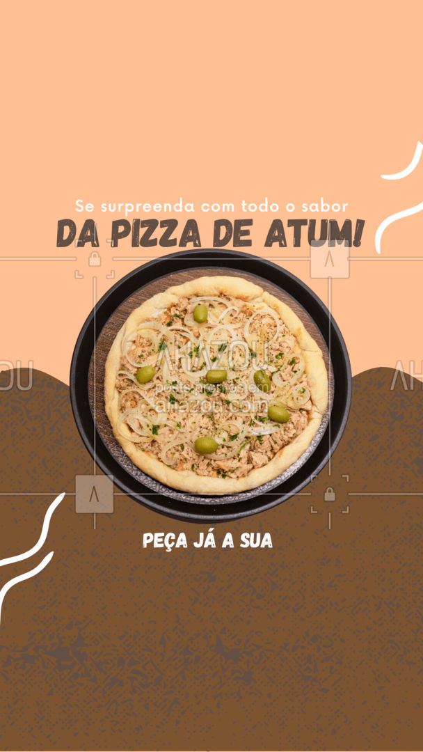 Deliciosa desde a primeira até a última mordida! Peça já a sua! #pizzaria #pizza #ahazoutaste #pizzalife #pizzalovers #sabores #opçoes