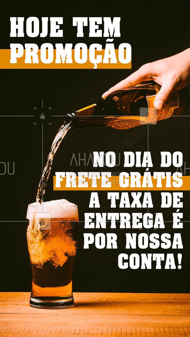 Aproveite a promoção do dia do frete grátis e garanta seu drink. Peça já o seu! #bar #mixology #cocktails #pub #ahazoutaste #lounge #drinks #promoçao #diadofretegratis