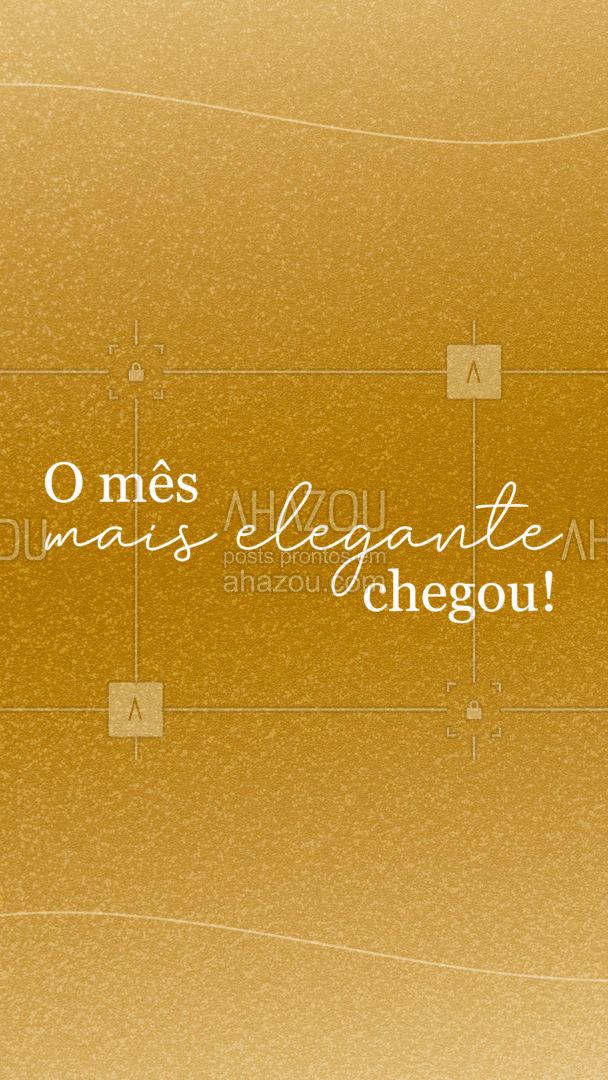 Seja bem-vindo dezembro!✨ #AhazouFashion #BemVindoDezembro #Dezembro #Moda #Frase #AhazouFashion