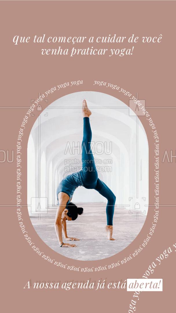 Você merece cuidar mais da sua saúde física e mental! Então venha fazer yoga com a gente! Nossa agenda já está aberta! #meditation #yogalife #yoga #AhazouSaude #namaste #yogainspiration #agenda #agendaaberta #horarios