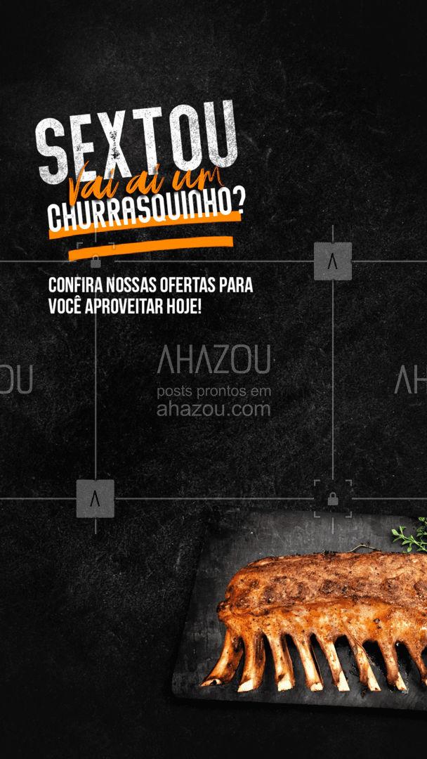 Venha curtir o início do seu fim de semana preparando um churrasco especial. Mas atenção, as ofertas são por tempo limitado! #meatlover #churrasco #bbq #açougue #barbecue #churrascoterapia