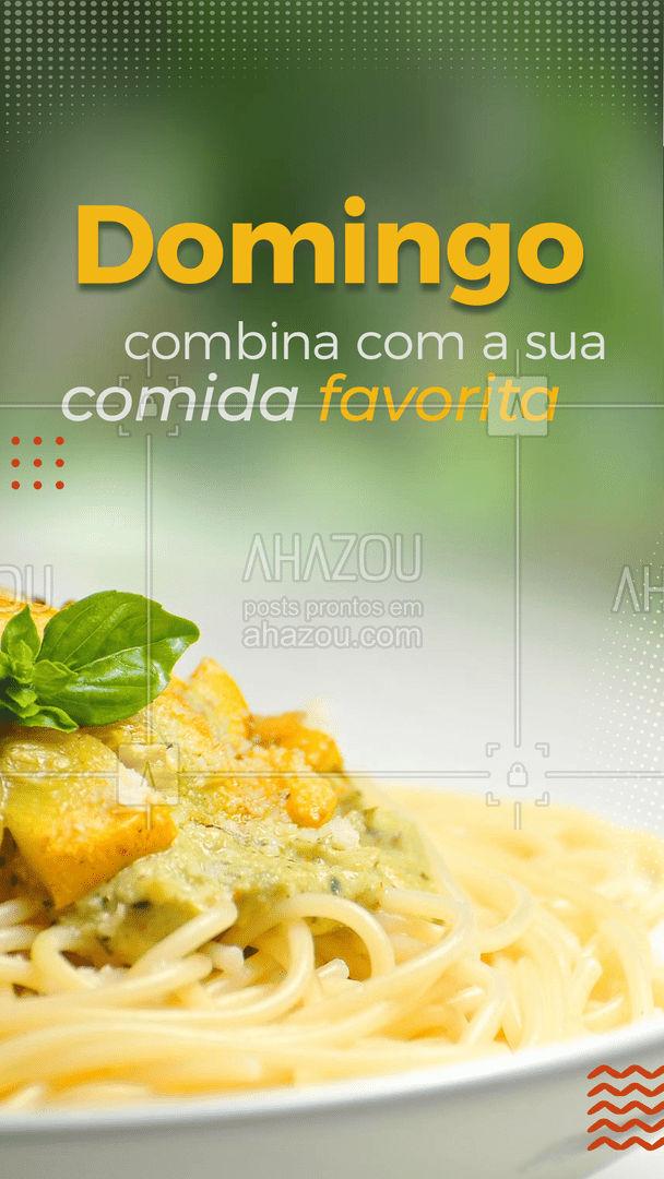 E olha que sorte, temos a sua comida favorita bem aqui.?   #Domingo #AhazouTaste #Delivery #Restaurante #Gastronomia