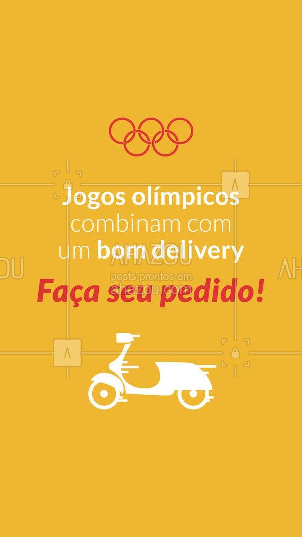 Temos diversos pratos para te fazer companhia durante os jogos olímpicos! 😉 #olimpiadas #olimpiadas2021 #ahazoutaste  #gastronomia #instafood #delivery