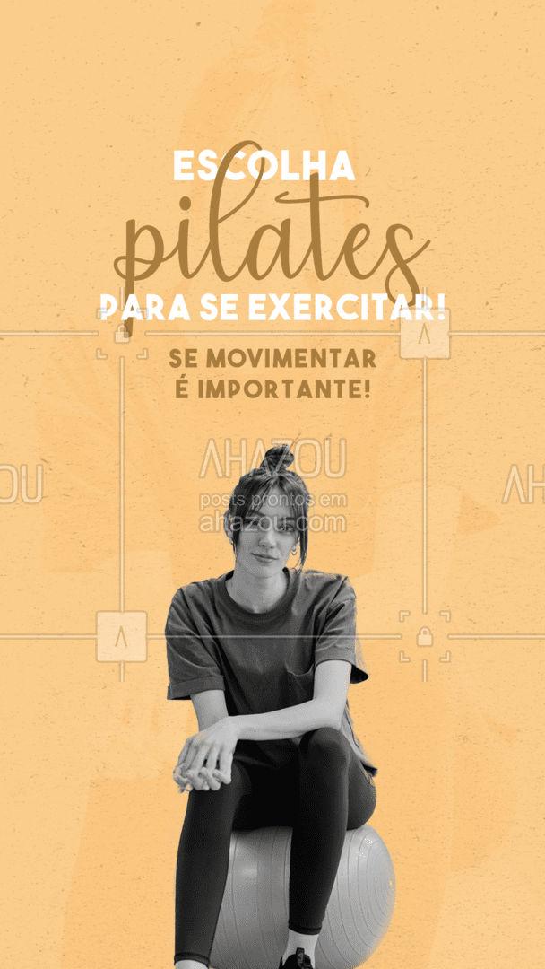 O pilates traz diversos benefícios para o praticante: ? mobilidade e flexibilidade ? alivia as dores ? trabalha a respiração ? anti-estresse ? fortalecimento e postura Se exercitar é importante, não se esqueça! #AhazouSaude #pilatesbody #pilates #fitness #workout #beneficios #saude #bem-estar #AhazouSaude