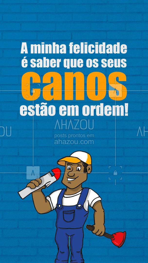 Nada deixa o coração de um encanador mais quentinho! ??️ #canos #encanador #encanamento #AhazouServiços #serviços #serviçospracasa