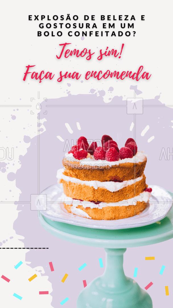 O bolo perfeito para você! Encomende seu bolo decorado e garanto que vai se apaixonar! #ahazoutaste  #confeitaria #bolo #bolosdecorados