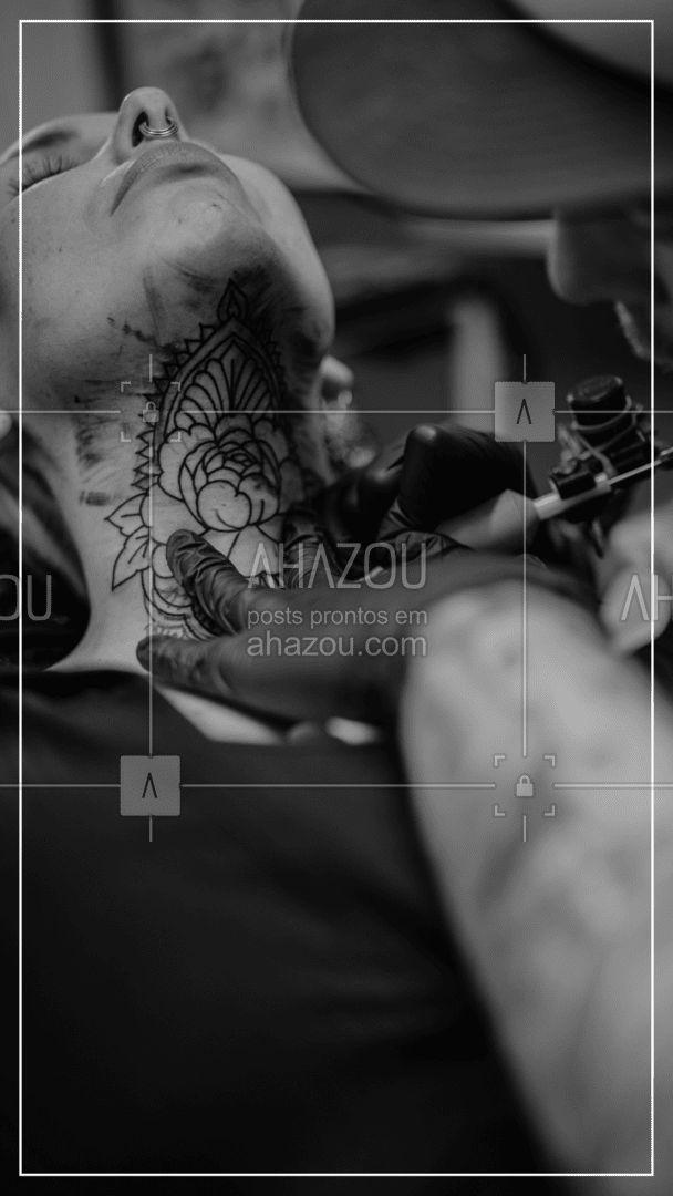 Tatuar o corpo inteiro é uma expressão artística e uma decisão corajosa. E nós estamos aqui para te ajudar a fazer isso. Podemos contar com a sua confiança? ? #editaveisahz #AhazouInk #tatuagem #tattoo