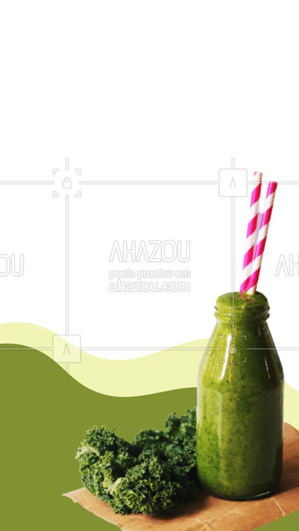 Os sucos detox garantem a você uma vida mais completa cheia de vitaminas necessárias para o seu dia a dia. Adote este hábito na sua rotina! ??✔ #ahazoutaste  #fit #sucos #detox #verde #vidaverde