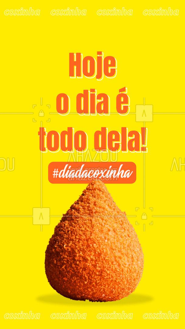Um dia totalmente dedicado à esse delicioso salgado! Não passe vontade, passe aqui e compre já a sua coxinha! #ahazoutaste #salgados #coxinha #diadacoxinha #foodlovers #instafood #eat
