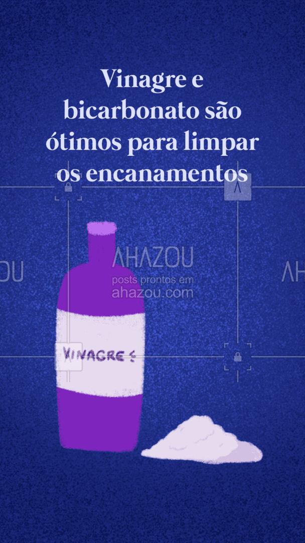 Coloque meio copo de bicarbonato no ralo, depois a mesma quantidade de vinagre e deixa descansar por algumas horas. Em seguida enxague o ralo com água morna. #AhazouServiços #encanador #encanamento #dicas