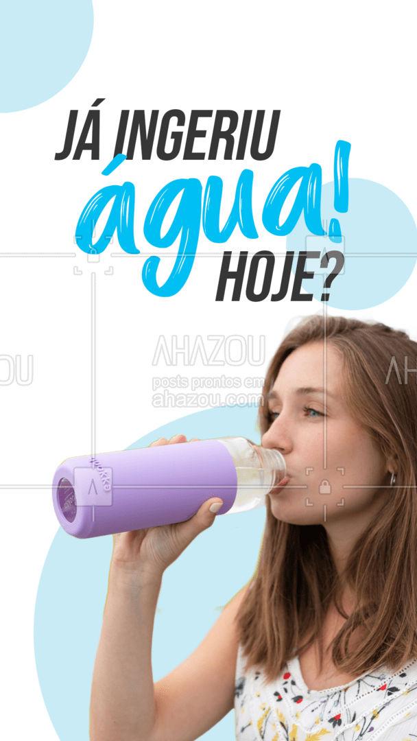 Os benefícios fornecidos pela água são inúmeros! Conta pra gente: Já conhecia os benefícios citados acima?  #AhazouSaude  #bemestar #nutricao #alimentacaosaudavel #saude #viverbem #agua #beneficios