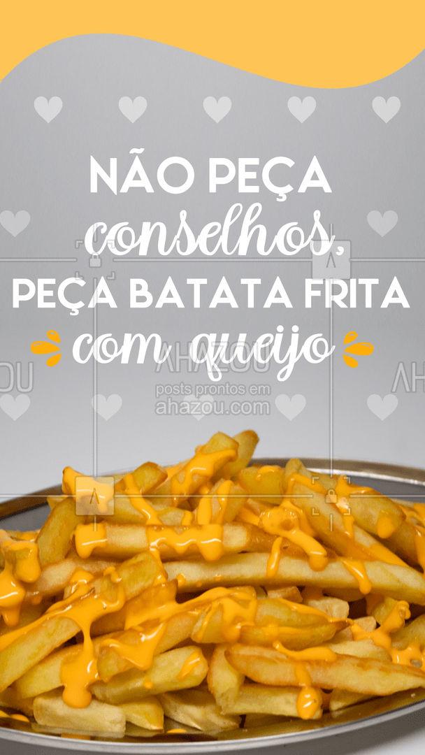 Afinal, batata frita com queijo não se nega nunca! Peça já sua porção! #batatafrita #queijo #batatacomqueijo #ahazoutaste #artesanal #ilovefood #instafood