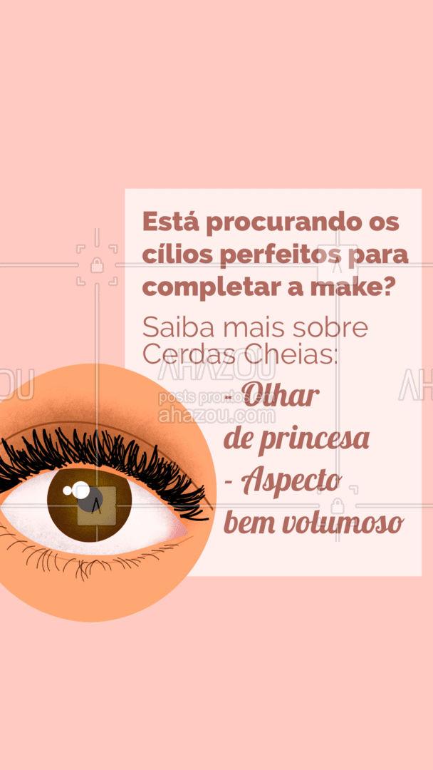 Uma ótima opção para quem quer complementar a maquiagem dando aquele foco nos olhos. #AhazouBeauty #maquiadora #cílios #lashes #makeup #muabrazil