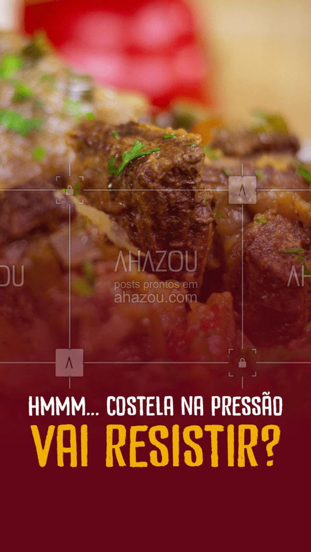 Um prato desses fica difícil de resistir, né? Aproveite e peça já o seu! 😋 #ahazoutaste #marmitex  #marmitando  #comidacaseira  #comidadeverdade  #marmitas  #restaurante  #alacarte  #foodlovers  #selfservice  #eat  #ilovefood  #instafood #costelanapressão #costela