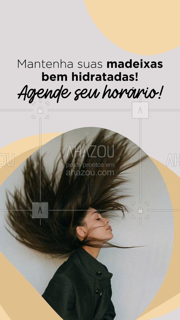 Seus cabelos merecem ser bem cuidados! Marque um horário comigo! 💖 #AhazouBeauty  #cabeloperfeito  #hairstylist  #hair  #hidratacao   #cabeleireiro  #salaodebeleza  #cabelo