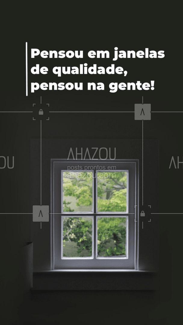 Aqui temos os melhores materiais e serviços para suas janelas! Venha nos visitar e confira! #vidrotemperado #vidracaria #AhazouVidraçaria #vidraçaria #serviços #janelas