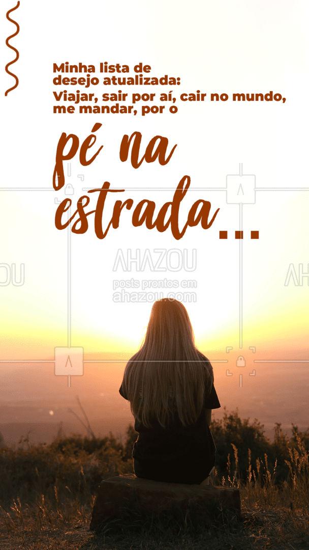 Sua lista de desejo também está assim? Conta nos comentários ✈❤. #viagens #viajar #viagem #trip #AhazouTravel #viageminternacional #viagempelobrasil