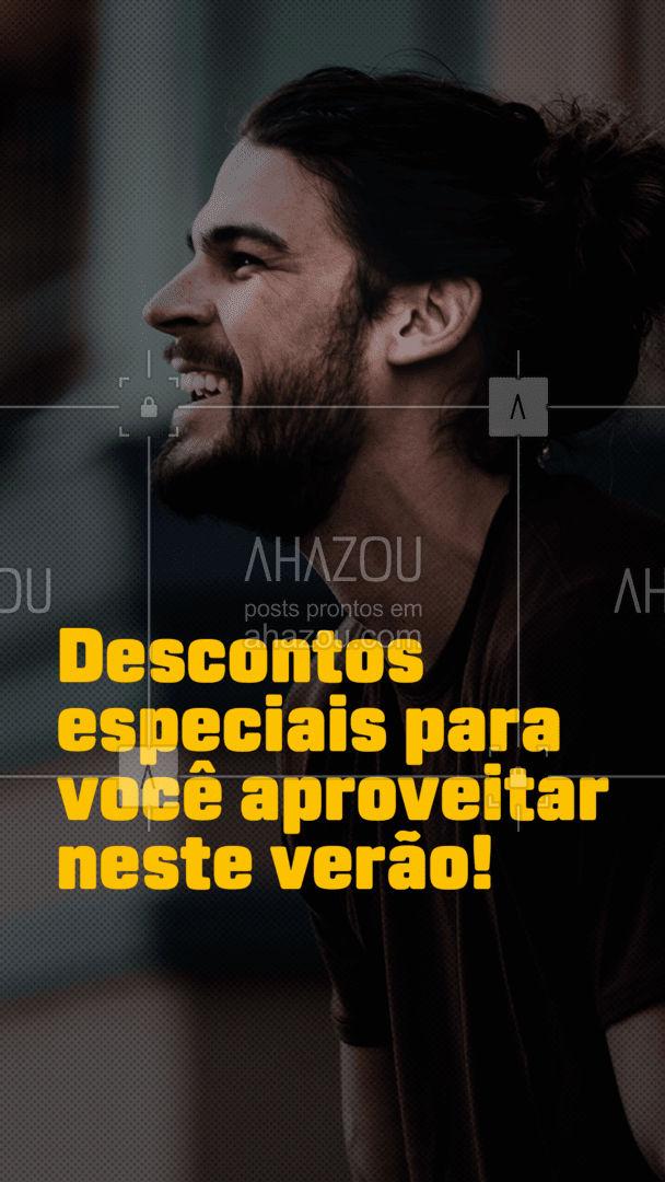 Venha aproveitar os combos com preços especiais e esteja preparado para o verão! ?? #verão #barberlife #barba #ahazoubeauty #barbeiro #barbeirosbrasil #barbearia