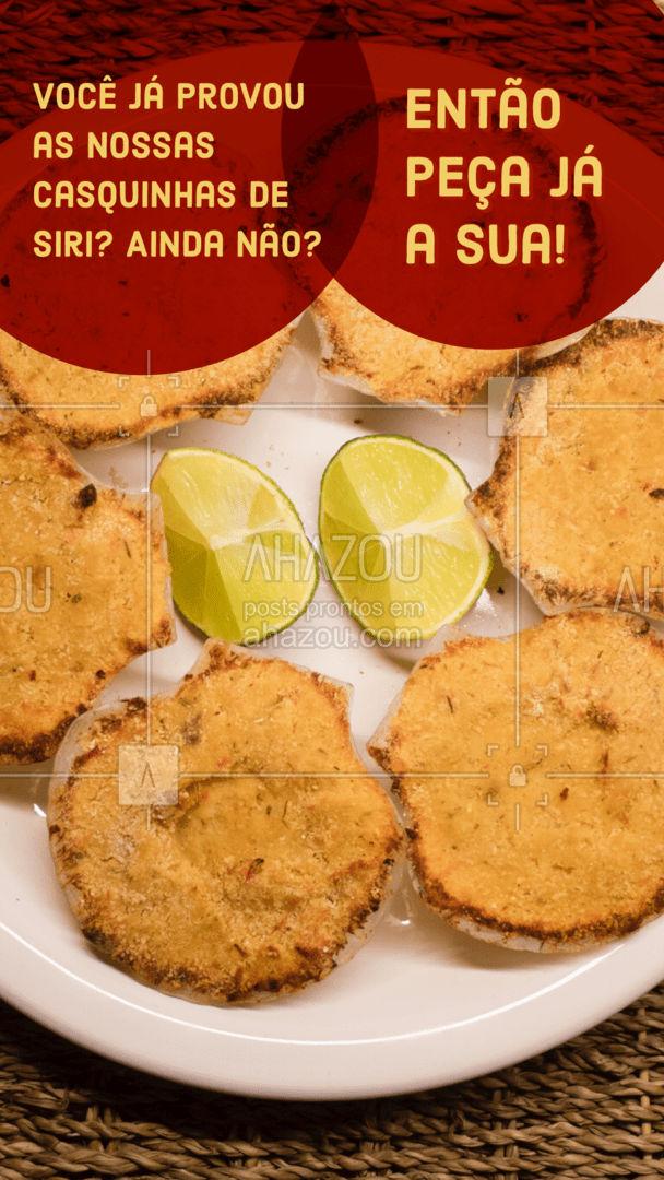 Que tal experimentar as nossas deliciosas casquinhas de siri? Garanto que você vai se surpreender com o sabor! Entre em contato e faça o seu pedido! #foodlovers #delivery #camarao #peixes #ahazoutaste #pescados #instafood #frutosdomar #ahazoutaste