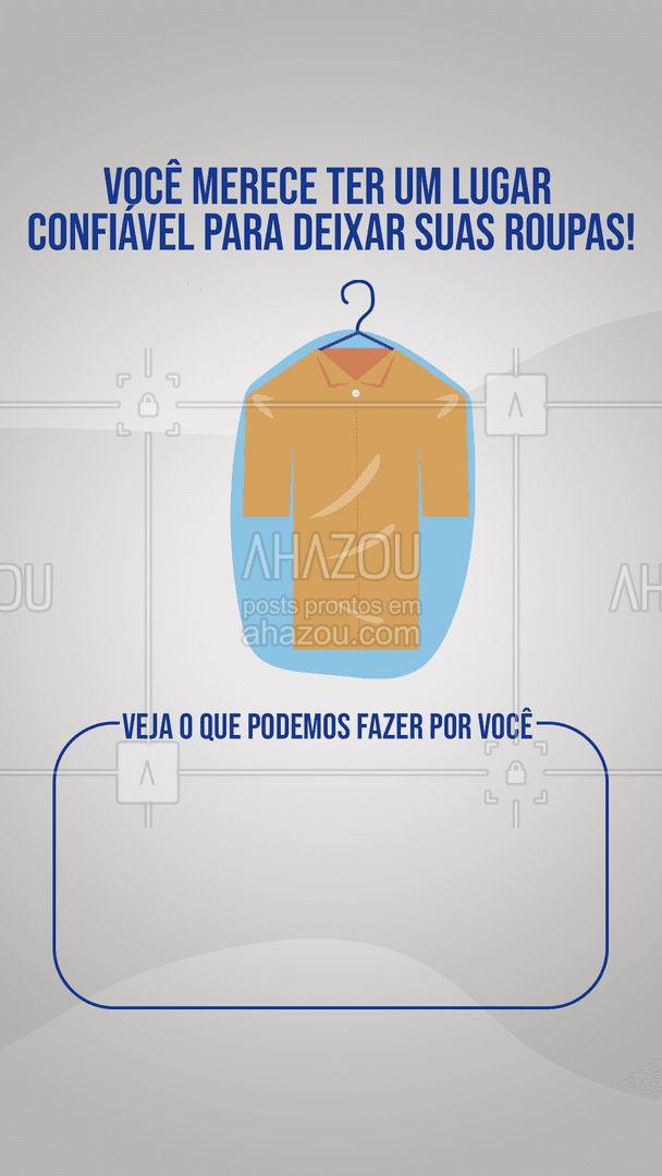 Pode deixar que nós cuidamos muito bem das suas roupas! ?  #lavanderia #roupalimpa #roupalavada #AhazouServiços #serviços #serviçospracasa