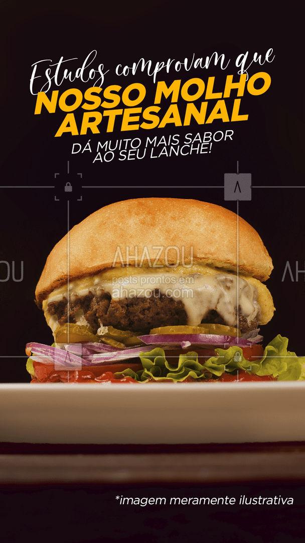 Contra fatos, não há argumentos!  Peça já o seu, já estamos funcionando ✍️ #burger #molho #molhodacasa #ahazoutaste #hamburguer #hamburgueria