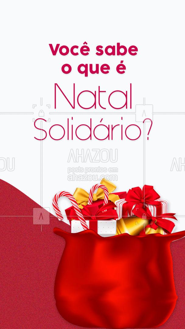 O Natal Solidário acontece no mês de dezembro e tem como objetivo tornar o Natal dos mais necessitados mais feliz ❤️?. A ação funciona da seguinte maneira: descrever a ação aqui, por exemplo: na compra de X reais em compras, parte é doada para a ONG... #lookdodia #AhazouFashion #ahznoel #fashion #OOTD #style #moda #Natal #FelizNatal #NatalSolidário #AhazouFashion #AhazouFashion