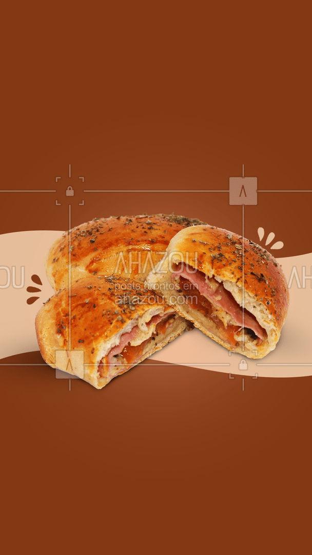 Uma ótima combinação para o dia é um café com pãozinho recheado, temos diversos recheios para você escolher e definir o seu favorito ? #ahazoutaste #recheado #pão #pãorecheado #pães #café #sabor