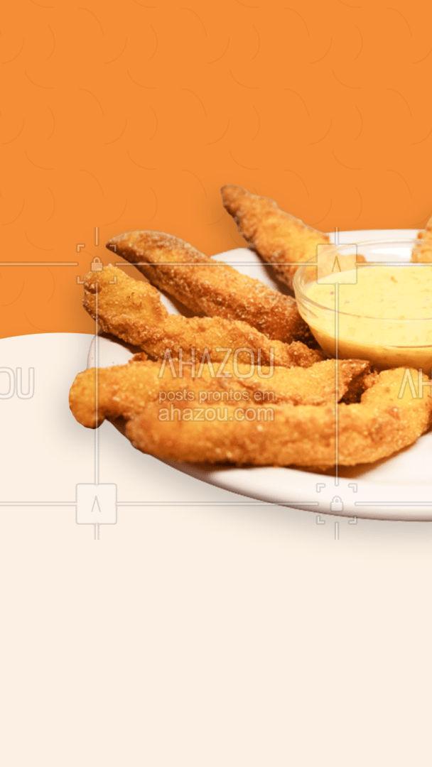 Afinal, nada melhor do que uma bela porção de frango frito! #delivery #entrega #frango #ahazoutaste #frangofrito #instafood  #foodlovers