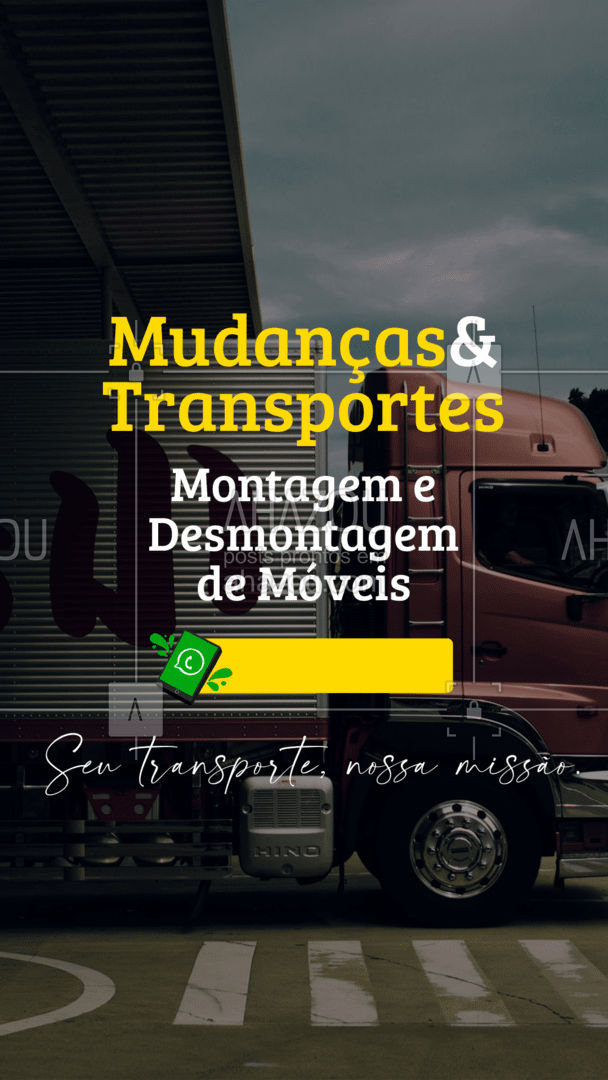A vida é feita de mudanças. Faça seu orçamento sem compromisso! ➡?   #AhazouServiços  #descarga #carga #movéis #montagemdemoveis