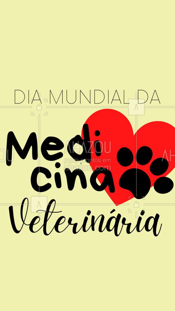 Obrigado por cuidar dos nossos pets com tanto carinho! Hoje é o Dia Mundial da Medicina Veterinária, queremos que vocês profissionais saibam o quanto são importantes! #AhazouPet  #veterinaria #veterinarian #clinicaveterinaria #medicinaveterinaria #petvet