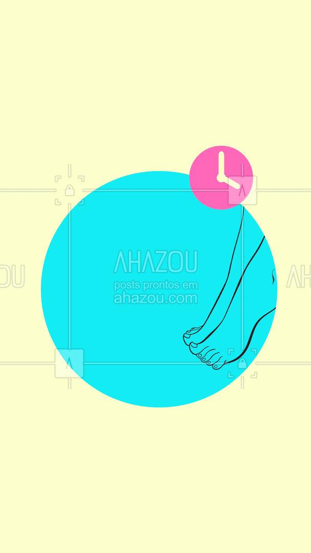 Marque o dia e horário mais conveniente para você! Nossa clínica está aberta de acordo com as datas acima! #AhazouSaude  #podologiacomamor #podologia #podolog #saude