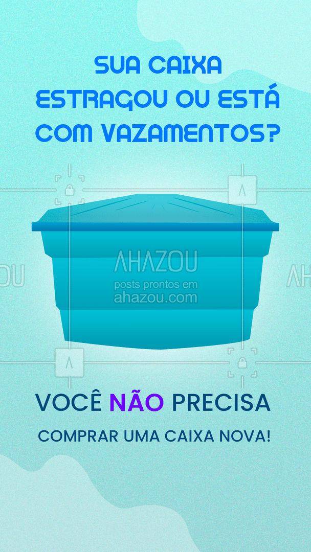 Praticidade e economia em um só lugar! Solicite os nossos serviços e não perca dinheiro com peças desnecessárias! Entre em contato: (xx) xxxx-xxxx #AhazouServiços #encanador #descarga #manutenção
