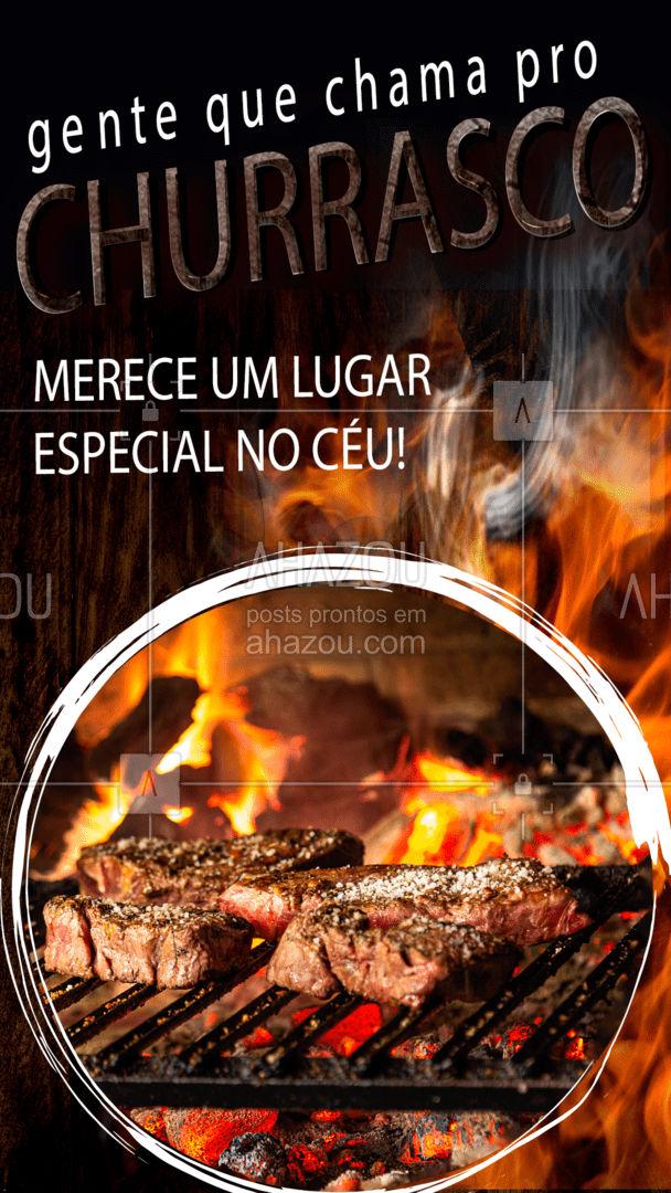 Uma das melhores poltronas do céu! Você também concorda? Garanta seu lugar e já organiza um churras aí! ?? #ahazoutaste  #churrasco #churrascoterapia #meatlover